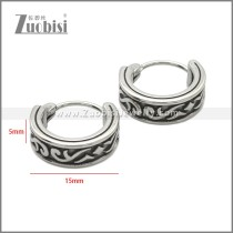 Stainless Steel Earring e002236SA