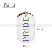 Stainless Steel Pendant p011112S