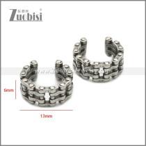 Stainless Steel Earring e002221SA