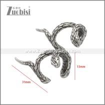 Stainless Steel Earring e002232SA
