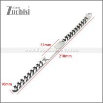 Stainless Steel Bracelet b010116SH