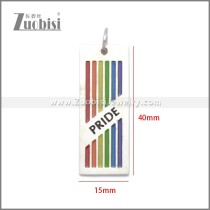 Stainless Steel Pendant p011104S