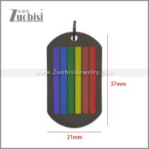 Stainless Steel Pendant p011105H