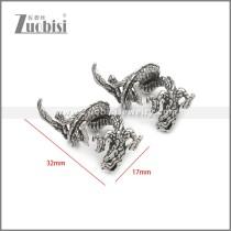 Stainless Steel Earring e002234SA