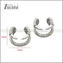 Stainless Steel Earring e002228SA