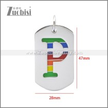 Stainless Steel Pendant p011116S