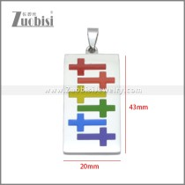 Stainless Steel Pendant p011108S