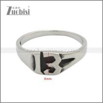 Stainless Steel Ring r008908SH