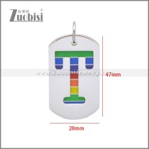 Stainless Steel Pendant p011118S