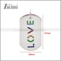 Stainless Steel Pendant p011115S