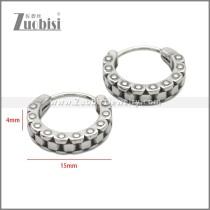 Stainless Steel Earring e002238SA