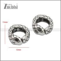 Stainless Steel Earring e002217SA