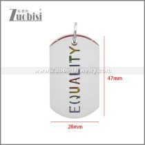Stainless Steel Pendant p011117S