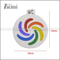 Stainless Steel Pendant p011111S