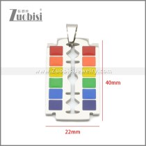 Stainless Steel Pendant p011106S