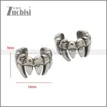 Stainless Steel Earring e002219SA