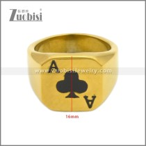 Stainless Steel Ring r008907G