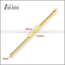 Stainless Steel Bracelet b010117G