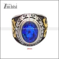 Stainless Steel Ring r008916SHG3