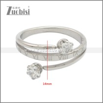 Stainless Steel Ring r008915S