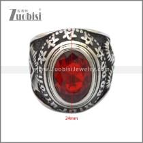 Stainless Steel Ring r008917SH3