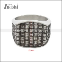 Stainless Steel Ring r008933SA