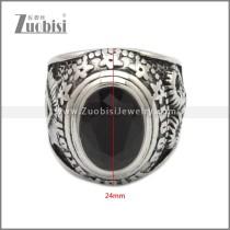 Stainless Steel Ring r008917SH2