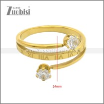 Stainless Steel Ring r008915G