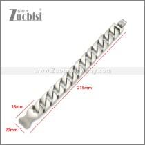 Stainless Steel Bracelet b010120S3