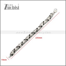 Stainless Steel Bracelet b010125SA