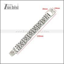 Stainless Steel Bracelet b010123S
