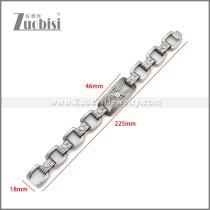 Stainless Steel Bracelet b010124SA