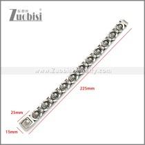 Stainless Steel Bracelet b010129SA