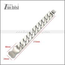 Stainless Steel Bracelet b010120S2