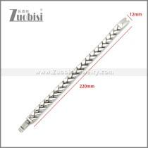 Stainless Steel Bracelet b010126S