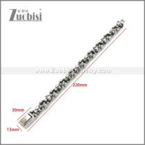 Stainless Steel Bracelet b010130SA