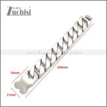 Stainless Steel Bracelet b010120S1