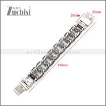 Stainless Steel Bracelet b010122SA