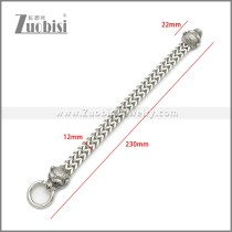 Stainless Steel Monkey Bracelet b010138S