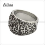 Stainless Steel Ring r008940SA