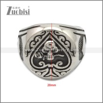 Stainless Steel Ring r008945SA