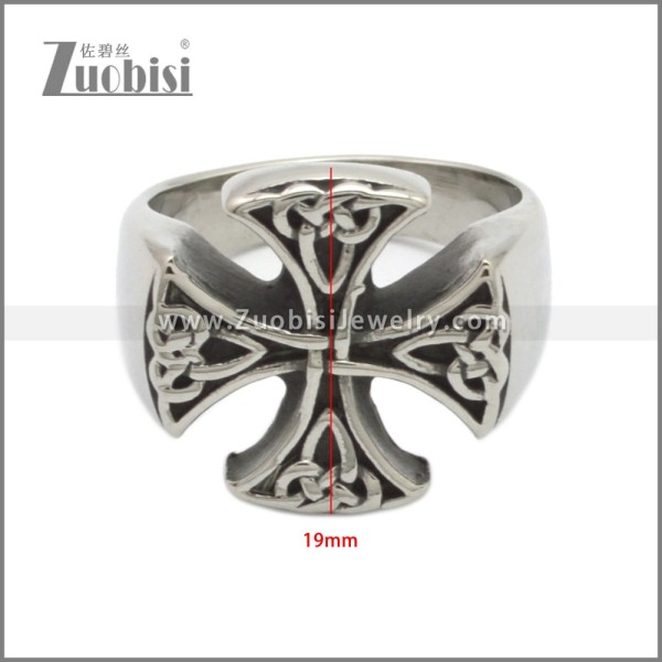 Stainless Steel Ring r008943SA
