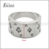 Stainless Steel Ring r008941SA