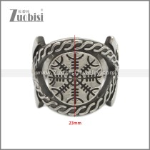 Stainless Steel Ring r008936SA