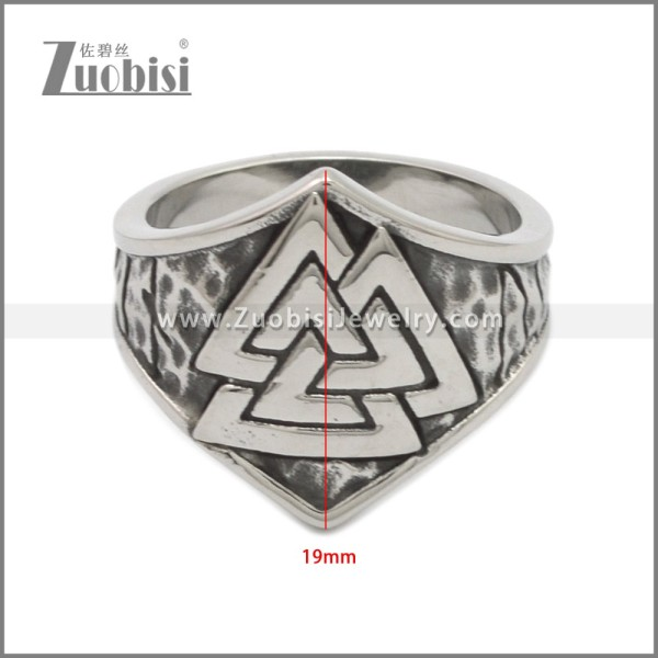 Stainless Steel Ring r008939SA