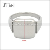 Stainless Steel Ring r008960S