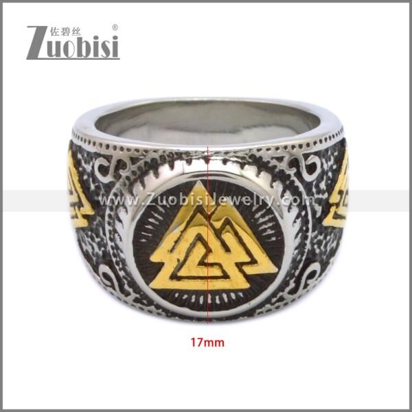 Stainless Steel Ring r008948SHG