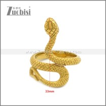 Stainless Steel Ring r008950G