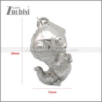 Stainless Steel Pendant p011140S