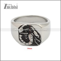 Stainless Steel Ring r008951SH